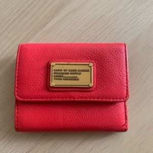 Marc By Marc Jacobs Wallet - Macintosh Red